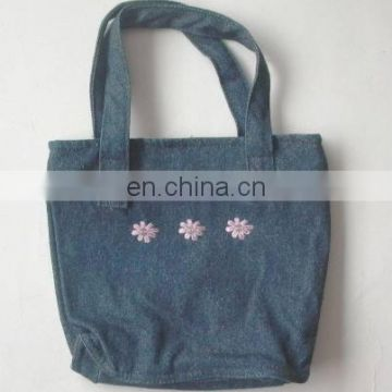 Shopping bag in denim