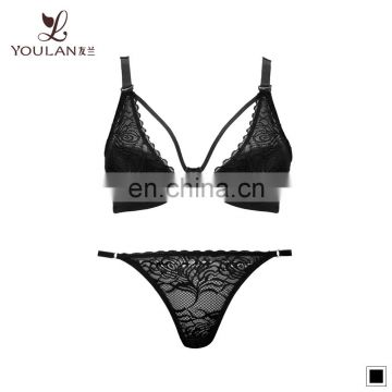 OEM ODM custom sexy teen bra panty sexy bridal bra and panty set