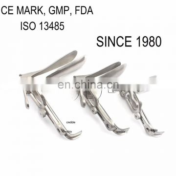 ISO,CE ,FDA. High Quality Stainless steel Gynecological / vaginal speculum/Small/Medium/Large