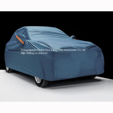Sky Blue 190T polyester car covers
