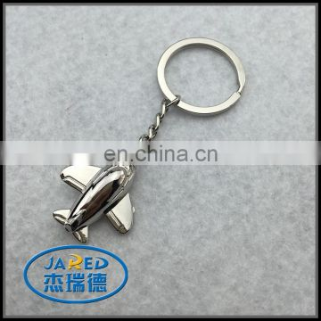 cheap custom small airplane 3d keychain with box
