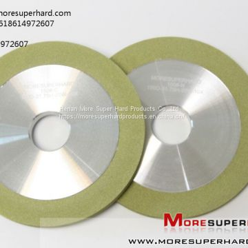 1A1  vitrified bond diamond grinding wheel for ceramic for pcd tools miya AT moresuperhard DOT com