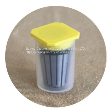 Collet ER22 half-transparent package small plastic tool box little parts and tool protective storage box 22mm(D) * 36mm(H)