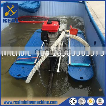 Mini portable Gold Dredger for alluvial gold and diomand recovery