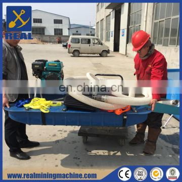 Sand Suction Pump Pontoon Type Mini Gold Dredge of Gold Mining Machine