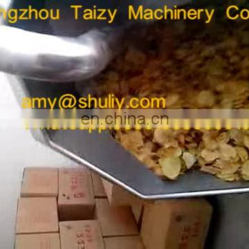 Drum potato chips peanuts seasoning machine