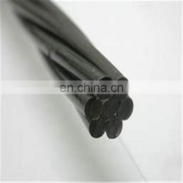High tensile carbon steel wire plain spiral indtented pc wire for concrete pole