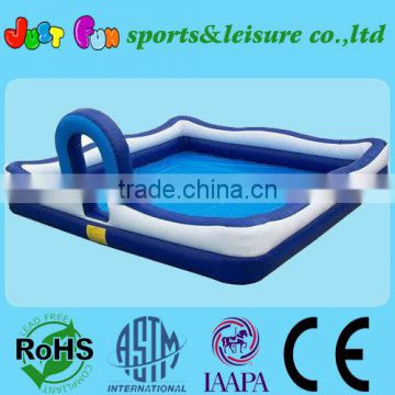 color&size customized inflatable foam pool