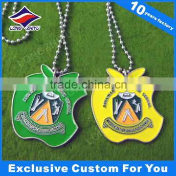 2016 Promotional Cheap Custom Metal Dog Tag China factory supply metal stainless steel military dog tag