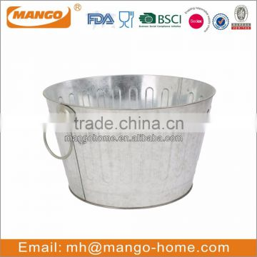Hot Sale Party Galvanized Metal Ice Bucket