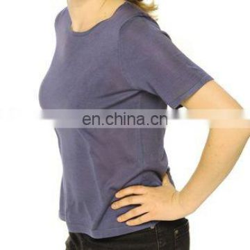 Cashmere ladies jersey with Round Neck