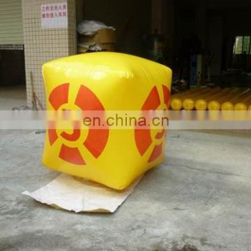 2016 new cube buoy with logo printing