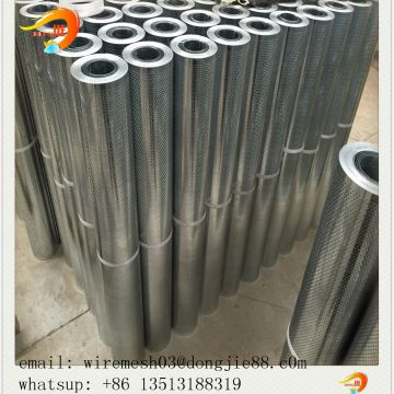 Galvanized Iron Plate perforated metal mesh