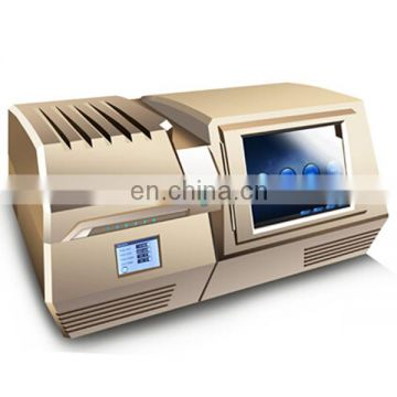EXF-9800V X-Ray fluorescence energy dispersion spectrometer Powder metallurgy component detector