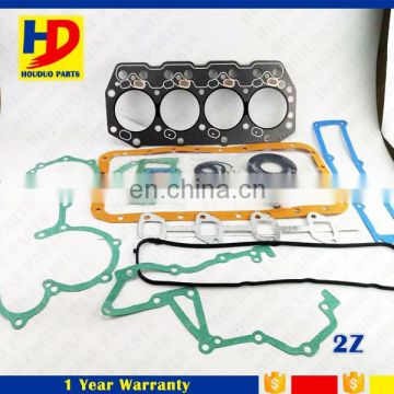 For Toyota 2Z 6F 7F Gasket Forklift Diesel Engine Parts 11115-78700-71