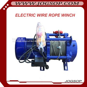 Fast Speed Small Electric Winch With Compact Structure of