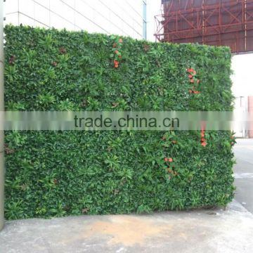 Outdoor artificial green wall green fence for sale