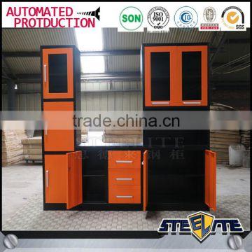 Commercial kitchen furniture Indoor metal kitchen almirah designs of ...