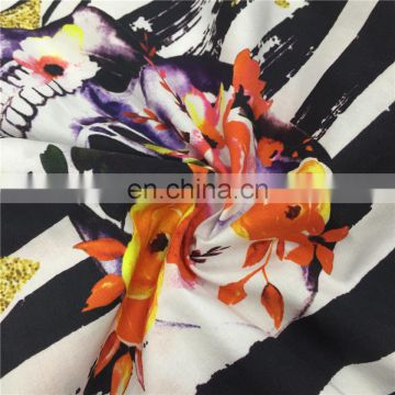 wholesale fashion custom printed rayon fabric for dresses