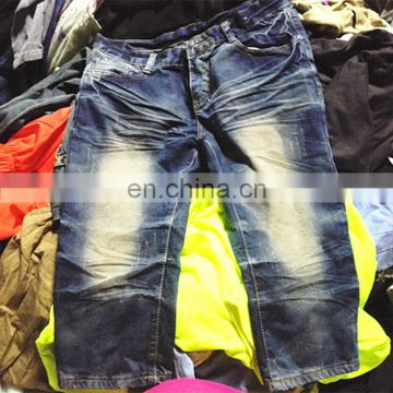 First class Import 3/4 pants used clothing used clothes for sale