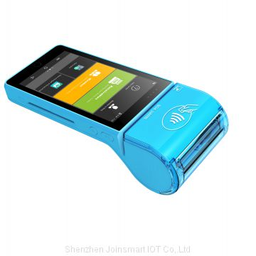 QR code scanner Android Device with Thermal Printer