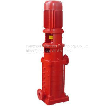 DL multistage centrifugal water pump