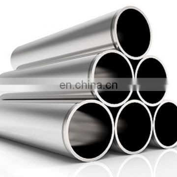 Hot finished welded 8K mirror polished stainless steel pipe ss441 for construction