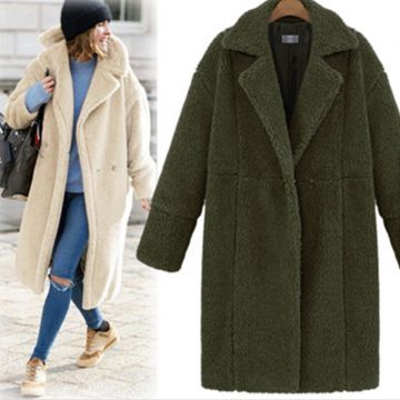 Lined Coat Fashion Ladies Overcoats Hooded Coat