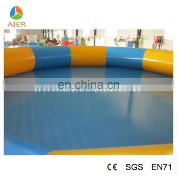 Hot sale inflatable swimming pool trampoline, inflatable water swimming pool, inflatable baby pool