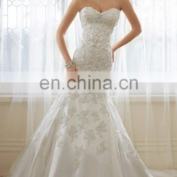 Romantic Sweetheart Empire Bridal Gown