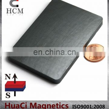 "Ferrite Magnets Block 3""X2""X1/4"" Hard Ceramic Magnet Block"