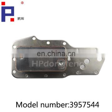 dongfeng aluminum oil cooler core 3902372 3903375 3911940 3918293 3921558 3957544