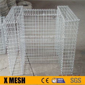 Zinc coated 50x100mm gabion baskets price for Soil Bioengineered Wall