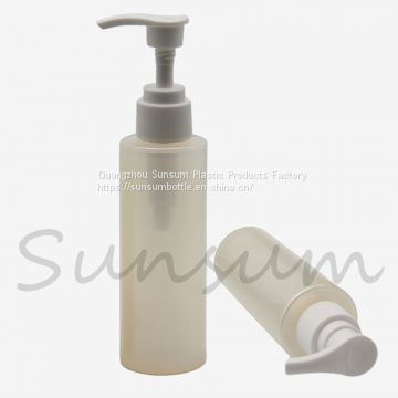 120ml Lotion Pearlescent Color Body Cream Liquid Lotion Pump Bottle