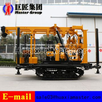 Professional and Efficient XYD-200 Crawler Hydraulic Rotary Drilling Rig 200m depth for sale
