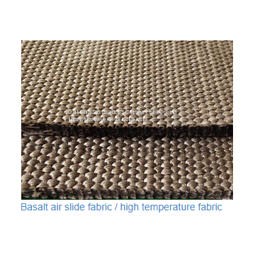 Polyester textile air slide fabric 4-8mm thickness, width