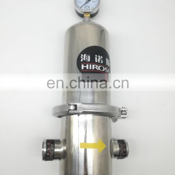 High Efficiency Stainless Steel Sterilizing Air Filter for food and medicine industrial