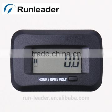 Agricutlural Machinery Tach Meter Voltage Rpm Tractor Seeder Air Compressor Gasoline Snow Thrower Lawn