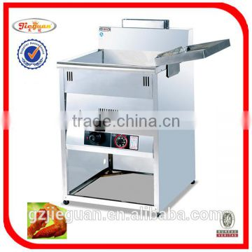 Stainless steel counter top gas fryer (GF-72)