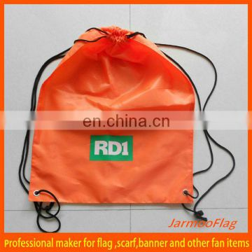 custom nylon drawstring bag