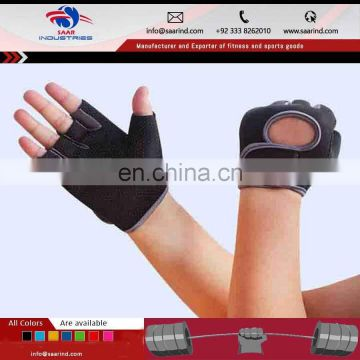Custom Pig Leather Athletic Works Weight Lifting Gloves, Weightlifting Gloves