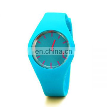 Hot sale quartz wrist watch cute girls watch silicon watch