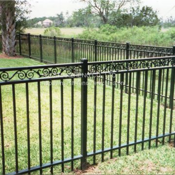 Wrought iron fence/decorative fence/ornamental fence/ steel fence