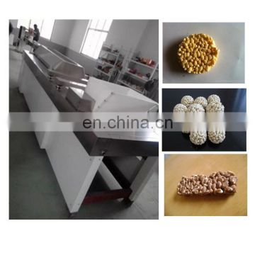 Hot sale Korean rice cake candy forming machine/cereal candy bar popcorn ball making machine