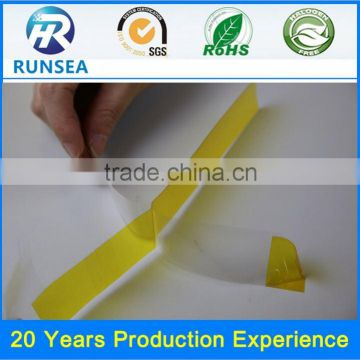 popular sell non substrate double sided tape transparent double sided polyimide tape