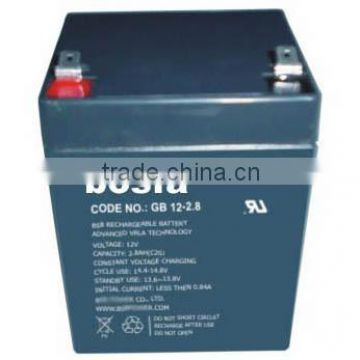sealed lead acid battery 12v 2.6ah for ups backup system