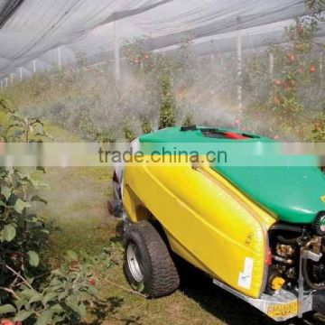 top quality high efficient tractor PTO use garden orchard trailer boom tank air blast sprayer 1500L with Italy diaphragm pump