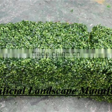 Artificial New Style Boxwood Hedge Ornaments Type and Plastic Material Grass Mat