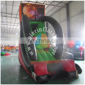 hot sale indoor inflatable basketball hoop for sale