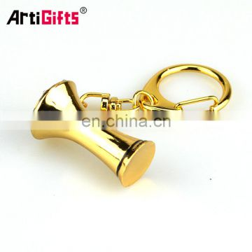 Wholesale cheap singapore enamel metal words puzzle number shaped keychain